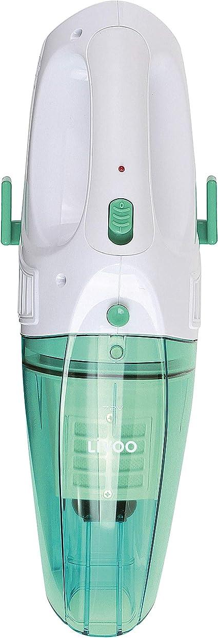 Domoclip doh109 V aspirador de mano agua y polvo (verde blanco y verde de agua 0,150 L), 45: Amazon.es: Hogar