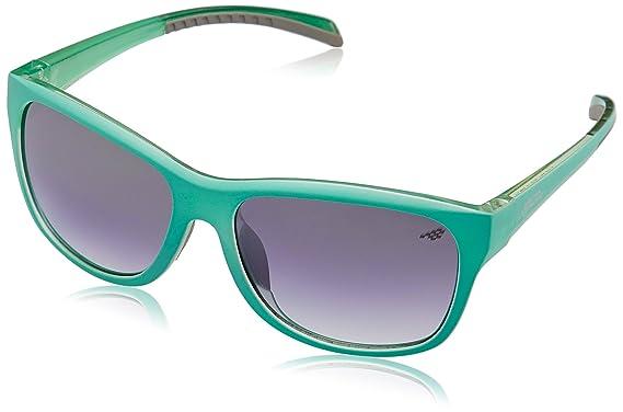 Red Bull Racing Eyewear Unisex - Erwachsene Sonnenbrillen Sports-Tech, Gr. One Size, Shiny Transparent Blue/Smoke With Silver Flash