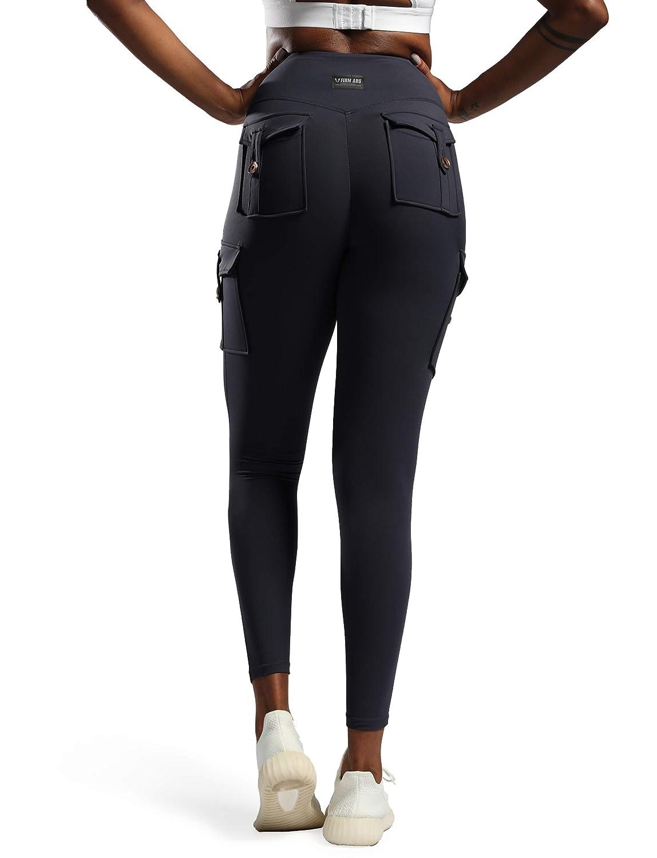 ANJUNIE Christmas Women Printing Exercise Tummy Control High Waist Tight Yoga Pants Trousers