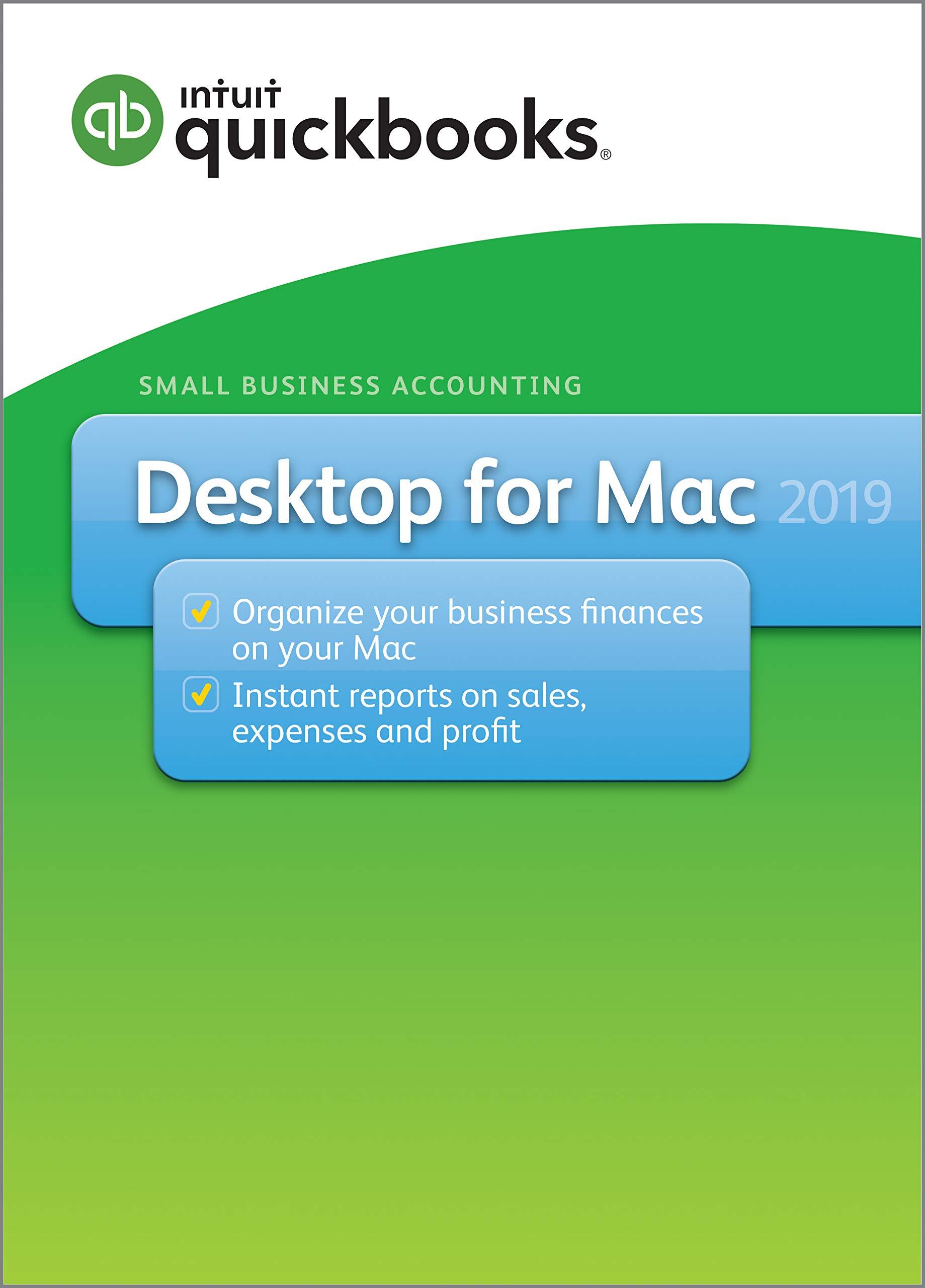 QuickBooks Desktop for Mac 2019[MAC Download] by Intuit