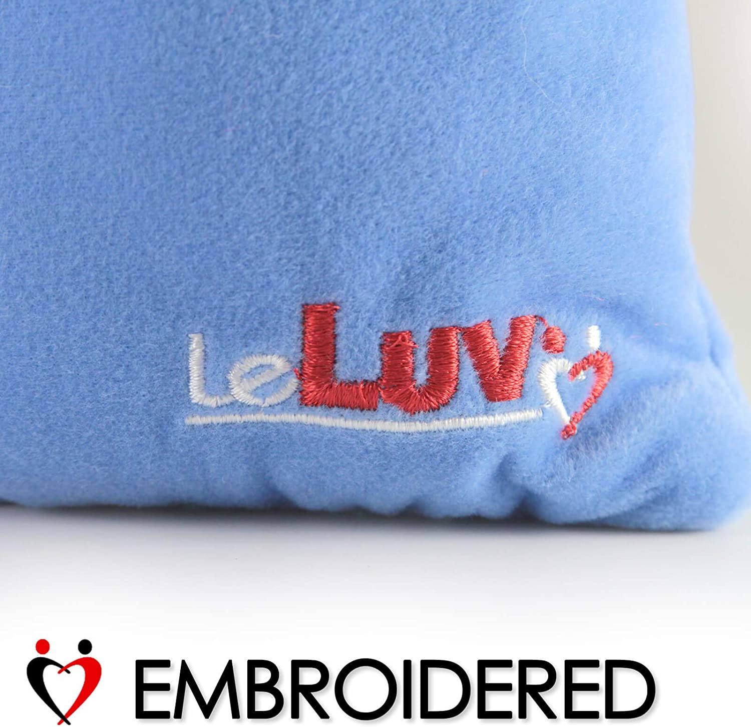 LeLuv Storage Gift Bags Square Single Layer Royal Blue Polyester