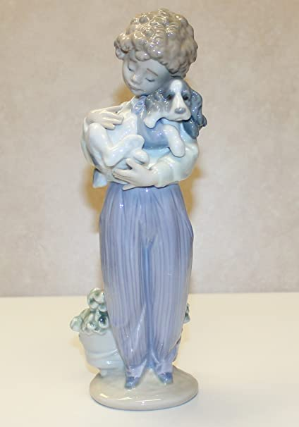 with on number Lladro bottom out
