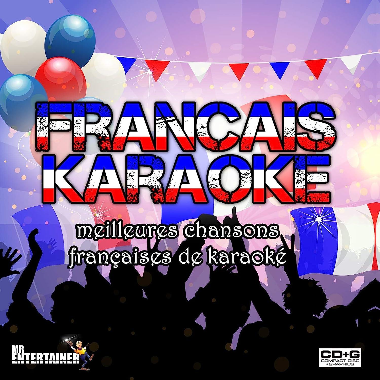 KARAOKÉ FRANÇAIS. Meilleures chansons françaises de karaoké. 2 Disques. 38  chansons. Paroles à l'écran. French Karaoke - Amazon.com Music