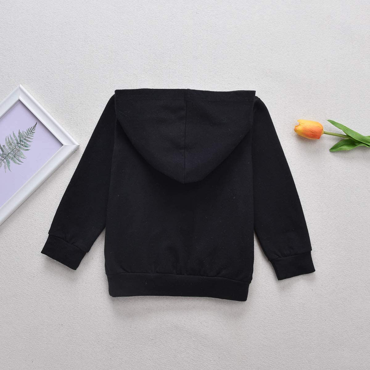 Toddler Boy Girls Hoodies Outfits Mini Boss Sweatshirt Casual Tops Pocket Sweater Cotton Clothes