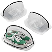 Tenn Well Shoe Wash Bags, Set of 3 Reusable Mesh Shoe Laundry Bags for Sneakers, Trainers, Running Shoes, Fit up to Men…