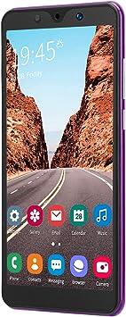 Vipxyc Cellphone, Smart Phones Unlocked New Note30 Plus 5.72in Cell Phones Smart Phones Unlocked Definition Cameras Expandable Storage 512MB+4GB(Purple)