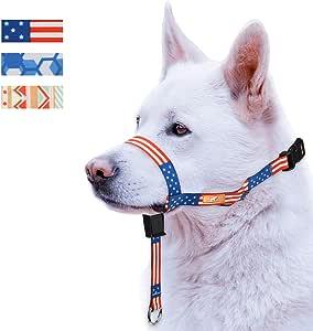 wintchuk Collar de Cabeza de Perro Colorido con 3 Hermosos diseños ...