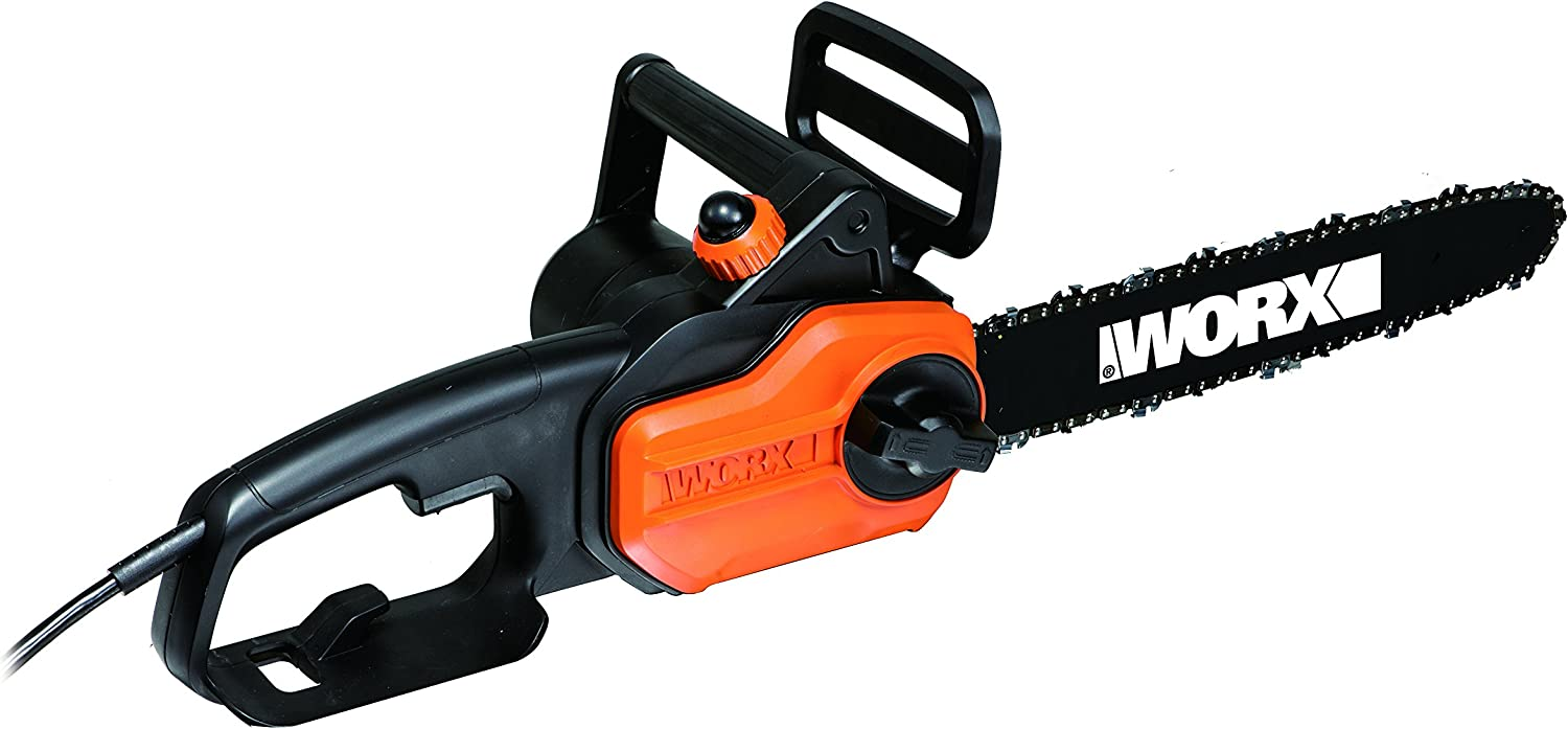 7. Worx WG305 Small Chainsaw