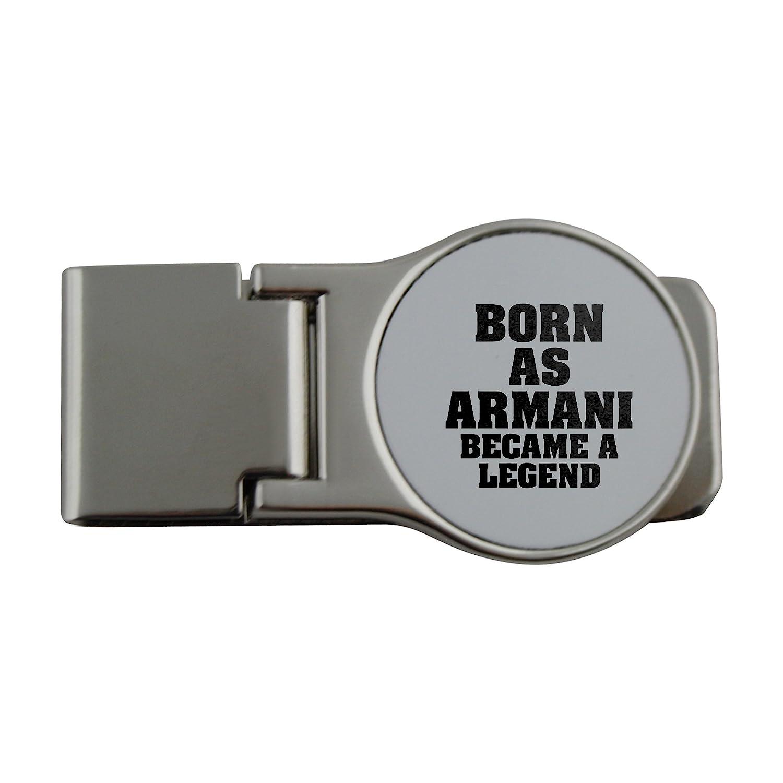 Metal dinero clip con Born como Armani, se convirtió en una ...