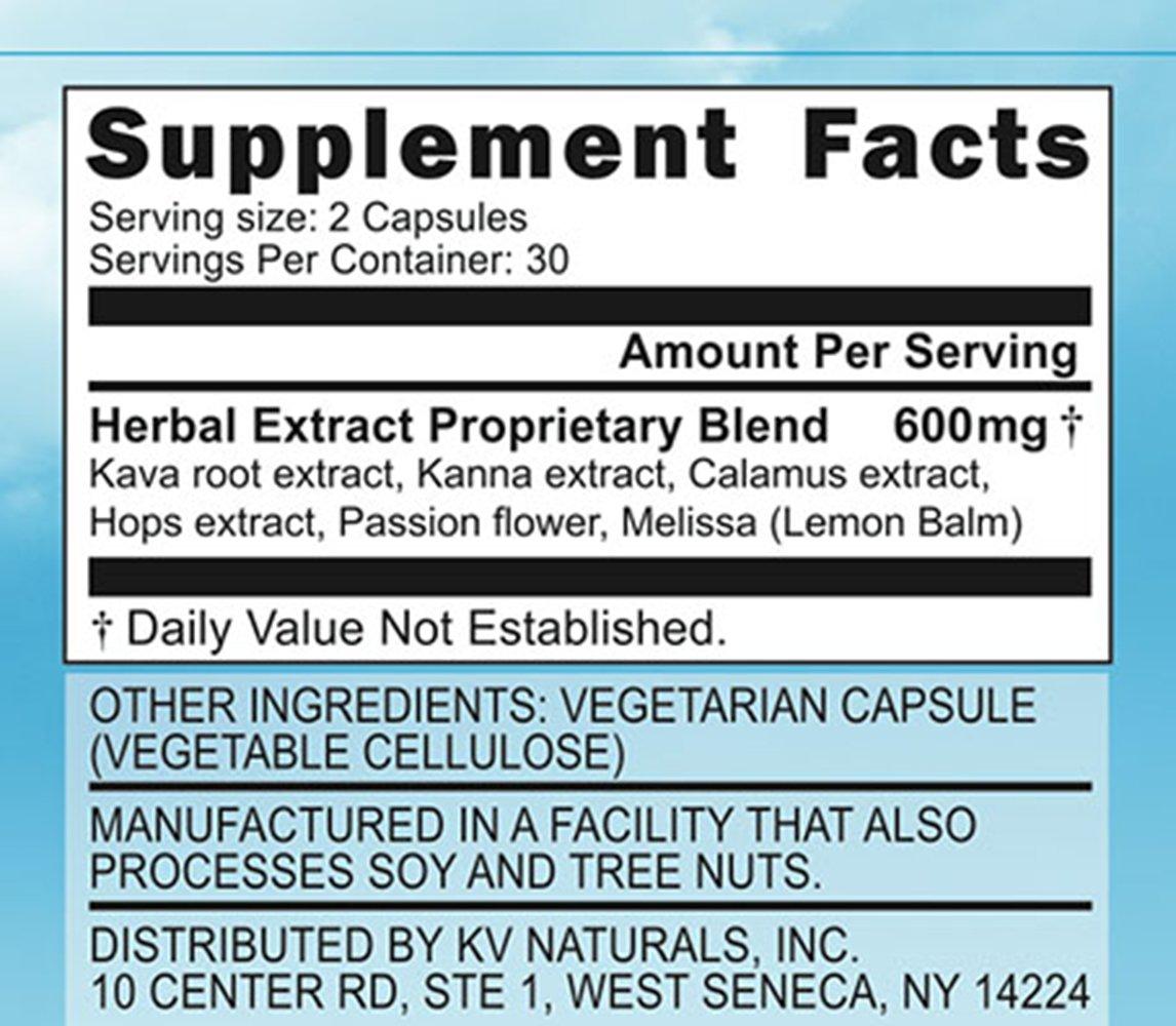 Amazon.com: KavaDotCom Premium Kava \'Awa Calm Capsules (60): Health ...