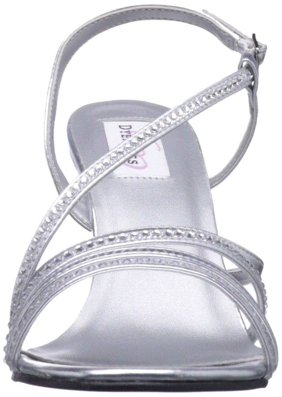 Dyeables Women's 7.5 JO Manmade Platform Sandal B009RA6SQ4 7.5 Women's B(M) US|Silver Metallic 05a562