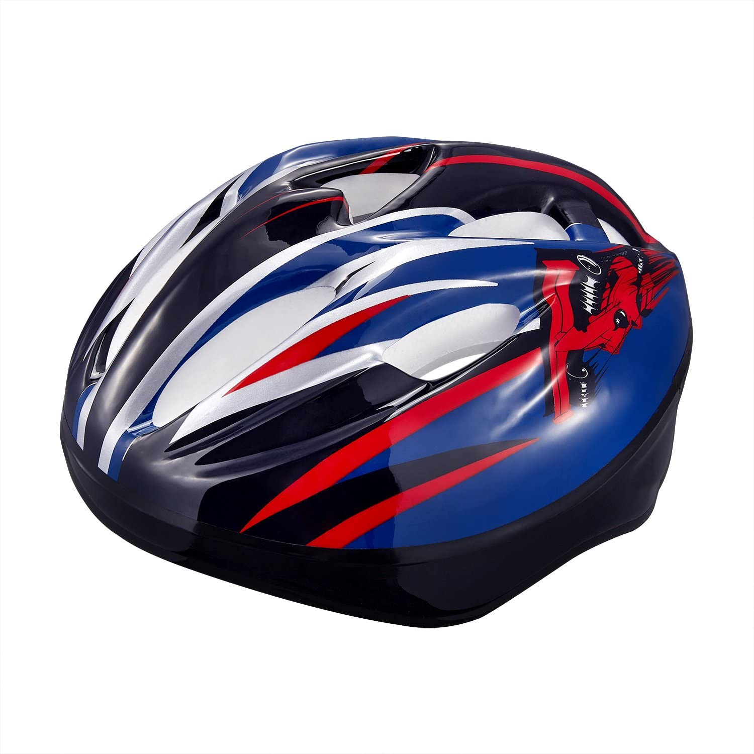 KUYOU Multi-Sport Helmet for Kids Cycling/Skateboard/Bike/BMX/Dry Slope Protective Gear Suitable 1-6 Years Old.