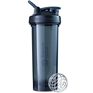 BlenderBottle Pro Series Shaker Bottle, 32-Ounce, Black