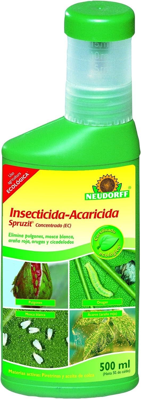 Neudorff Spruzit Insecticida-acaricida Concentrado, Amarillo, 9x5x27 cm