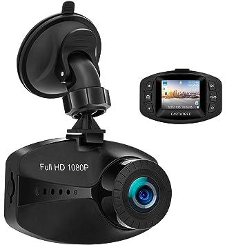 Earthtree Cámara de Coche 1080P FHD Dash CAM para Coche con Sensor Sony WDR G-