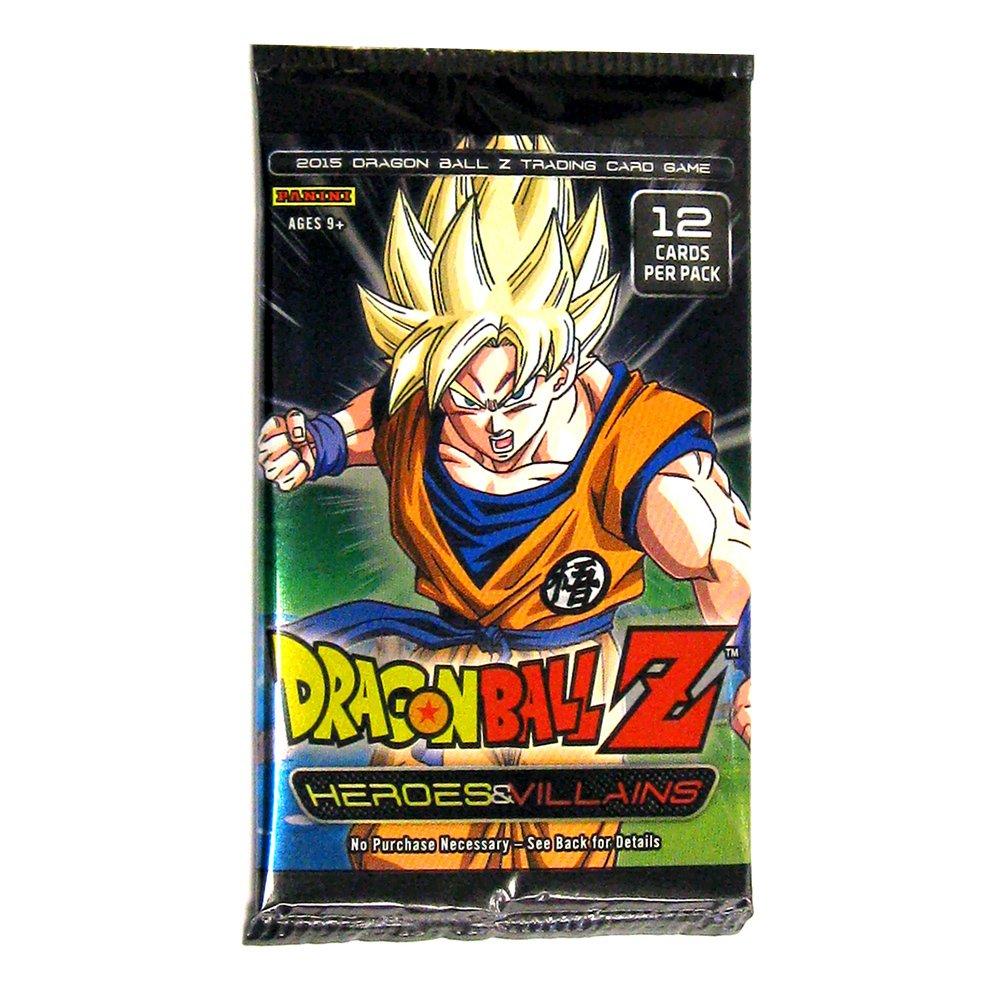 Dragon Ball Z Collectible Card Game Heroes  Villains Booster Box