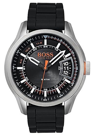 7702e5520258 Hugo Boss Orange - Reloj Análogo clásico para Hombre de Cuarzo con Correa  en Silicona 1550048  Amazon.es  Relojes