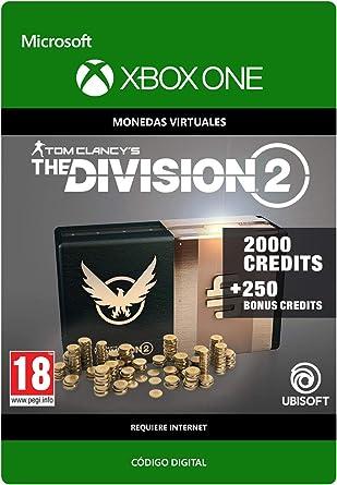 Tom Clancys The Division 2: 2250 Premium Credits Pack 2250 ...