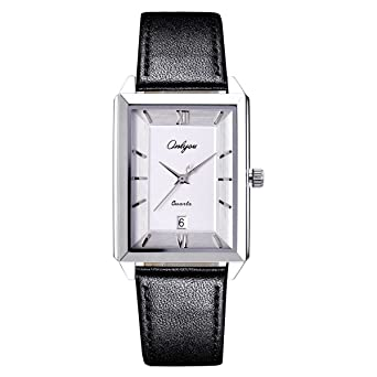 ONLYOU Newest Men Watch Lover Watches Square Dress Ladies Watches Men Clock Wholesales