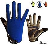 Cycling Gloves Kids Boys Girls Youth Full Finger