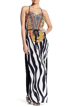 3473663b12 La Moda Clothing Racerback Zebra Print Dress