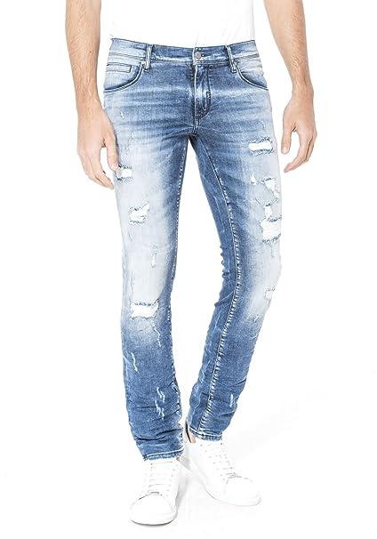 84fe4a8866cc6 Antony Morato Men Jeans Skinny barret MMDT00163-FA750077 W00870   Amazon.co.uk  Clothing