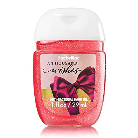 b2fe42609b Buy Bath & Body Works PocketBac Hand Gel Sanitizer A Thousand Wishes Online  at Low Prices in India - Amazon.in