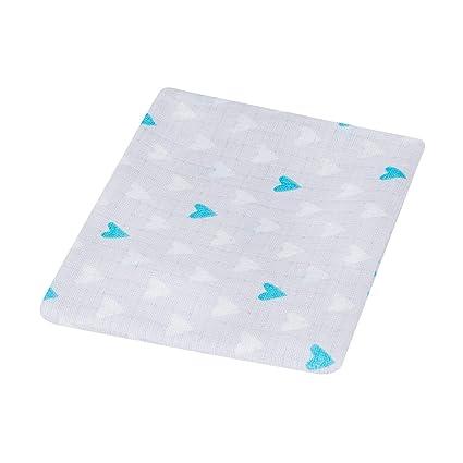 100% algodón alta calidad – Pañuelos cuadrados de muselina para bebés, tamaño grande 80