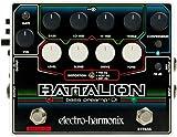 electro-harmonix エレクトロハーモニクス ベースエフェクター プリアンプ/DI Battalion 【国内正規品】