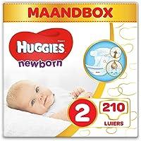 Huggies Newborn maat 2, 3-6 kg, 210 luiers (6 x 35 luiers)