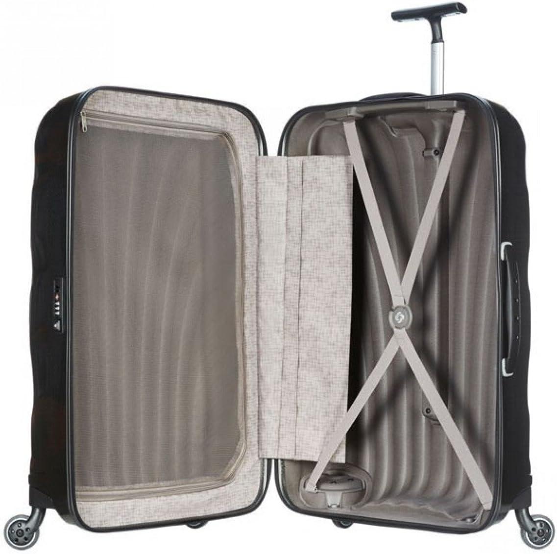 Samsonite Luggage Black Label Cosmolite 2 Piece Spinner Luggage Set, 32 and 20 One size, Black