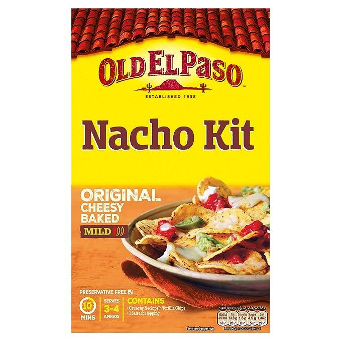 Kit Nachos Mexicanos Old El Paso, Pack 520 gr: Amazon.es: Alimentación y bebidas