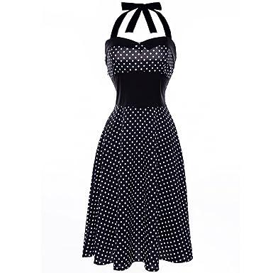 Overdose Women Dress Vintage 1950s Rockabilly Audrey Dress Retro Cocktail Dress