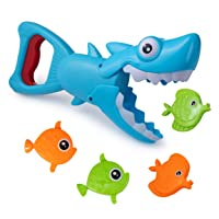 Hoovy Bath Toys Fun Baby Bathtub Toy Shark Bath Toy for Toddlers Boys & Girls Shark...