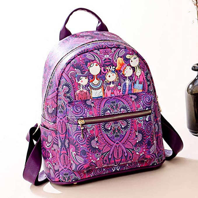 Amazon.com: XEDUO Crossbody Purses Waterproof Anti-theft Rucksack Women Forest Girls Pattern Large-Capacity Backpack Sutdent Shoulder School Bag: Kitchen & ...