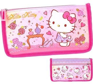 Hello Kitty dos cremallera bolsa neceser estuche para ...