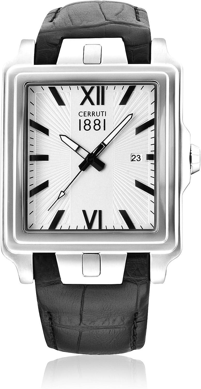 Cerruti 1881 Reloj de Cuarzo Man CRC015A212C 37.0 mm