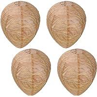 Cabilock 4 Piezas Nido de Avispas Señuelo Repelente de Avispas Naturales Material de Disuasión Impermeable Colgando…