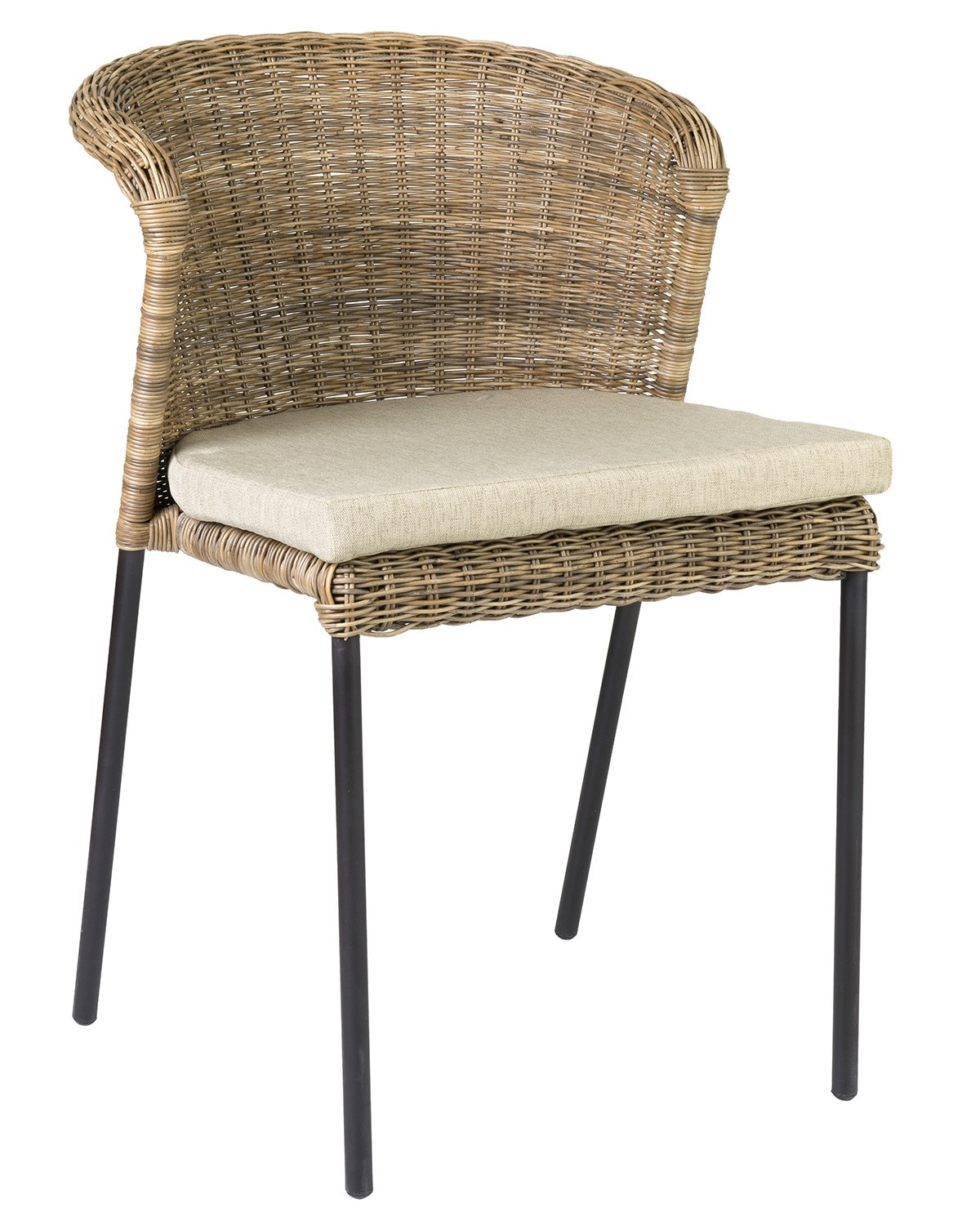 Amazon com east at main eunice natural fiber rattan square dining chair 19x21x30 chairs
