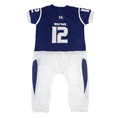 fbbf2336d Amazon.com: NCAA Nevada Wolfpack Baby Boy Football Uniform Onesie ...