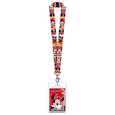 Disney 85928 Minnie Mouse Red Lanyard Novelty and Amusement Toys: Toys & Games