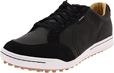 b9119ee802da55 Ashworth Men's Cardiff - Black/White Golf Shoes 14 M: Amazon.co.uk ...