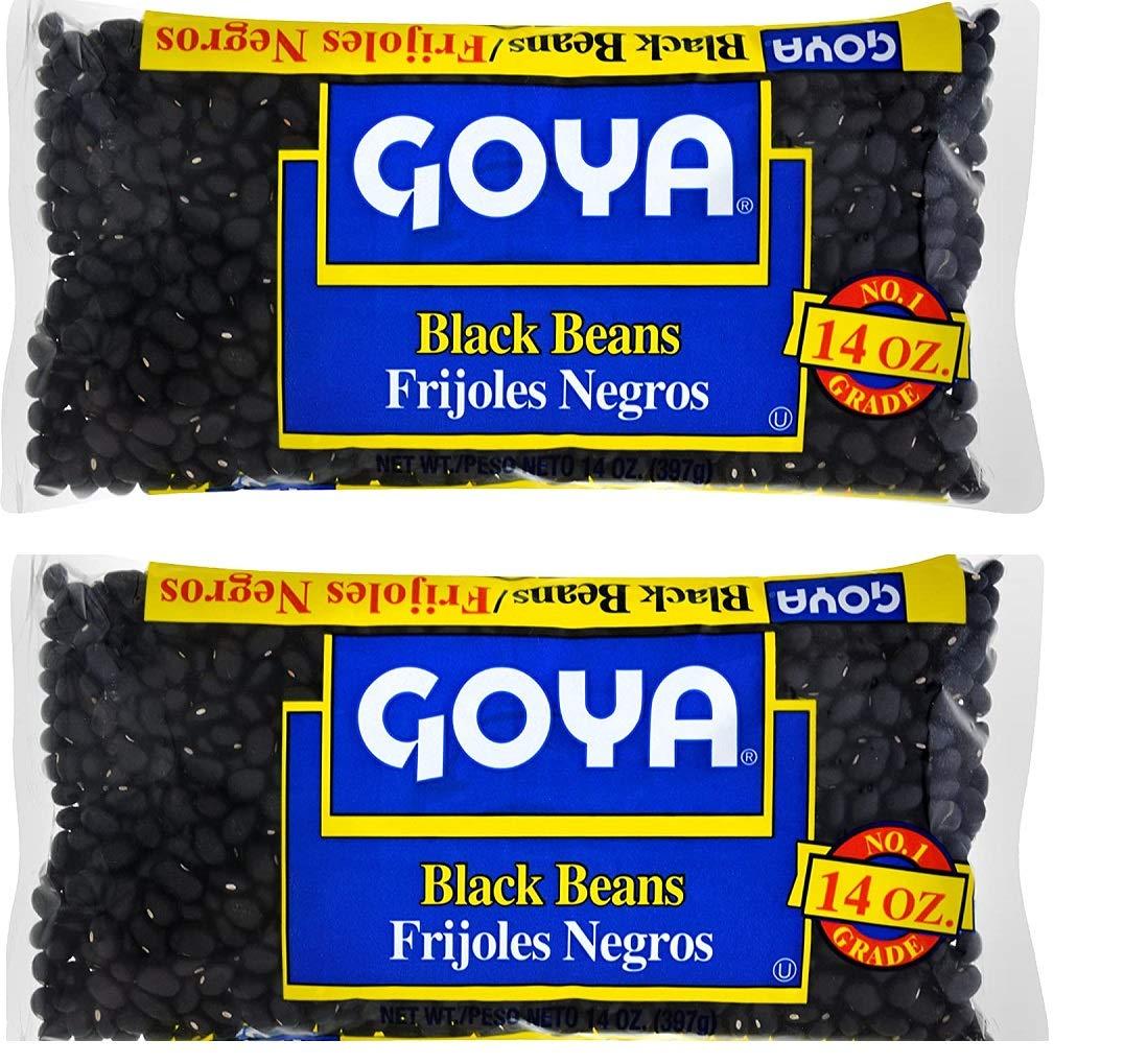 Goya Dry Black Beans, 28 Ounce (Pack of 2)