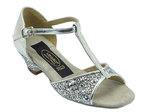 migliore vendita calzature migliore Scarpe da Ballo per Bambina Latino Americano in Capretto e ...