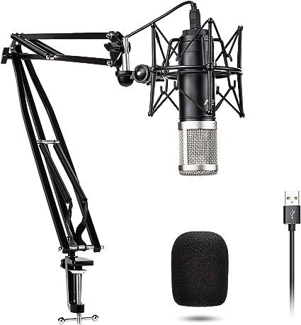 Amazon.com: VeGue - Micrófono de condensador con diafragma ...