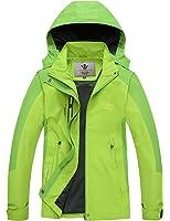 WenVen Womens Lightweight Windproof UV Protect Coat Hooded Sport Zip Up Jacket