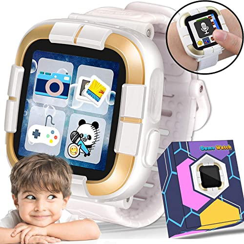 NEW Kids Game Watch for 3-12 Boys Girls – 1.5 Kids Walkie Talkie Touch Smartwatch, Toddlers Electronic Game Wrist Watch with Camera Pedometer Alarm Children Learning Toys Birthday Travel Gifts