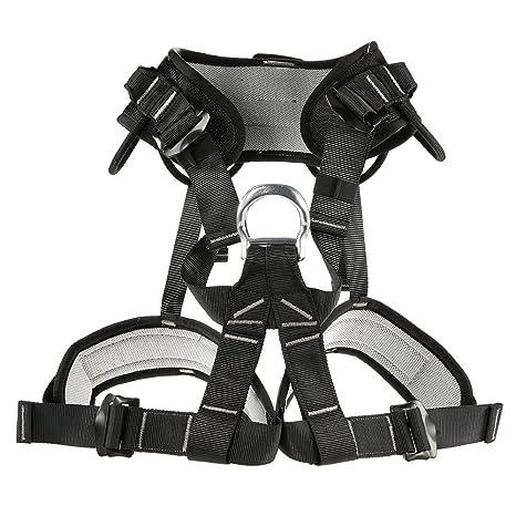 ANZQHUWAI Escalada del cinturón de Seguridad Espesar Fuerte del ...