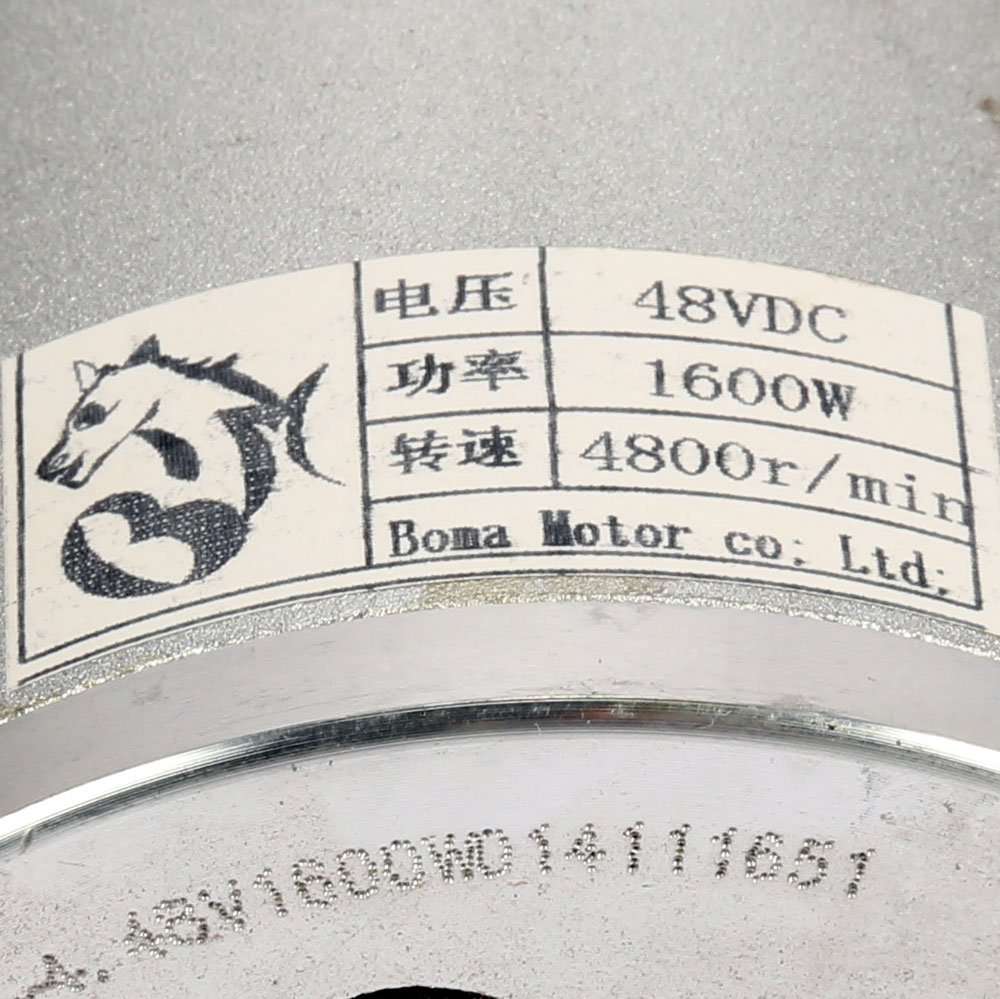 Motor sin escobilla de 48 V 1600 watt con 11er ...