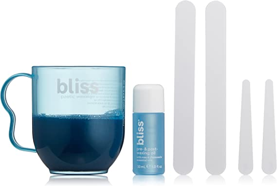 Poetic Waxing by Bliss At Home Hair Removal Kit: Amazon.es ...